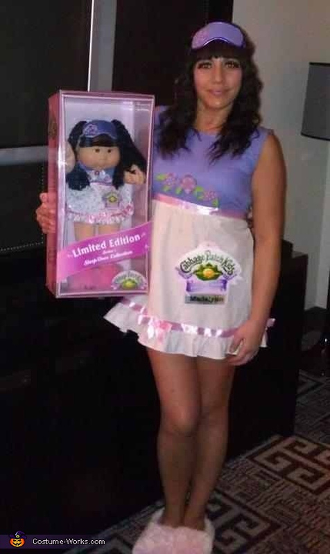 Plus size double chinned barbie sparking controversial debate for Cabbage patch halloween costume