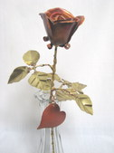 A Copper Rose and other works