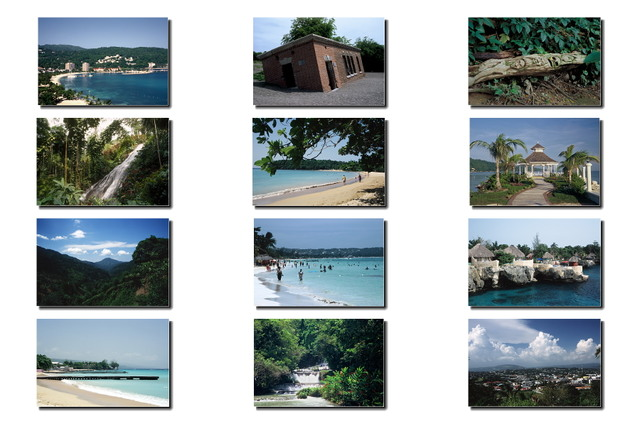 Sample images from Caribbean Fantasy: Jamaica 2013 calendar. © Stan Thomas/Kanale Creations