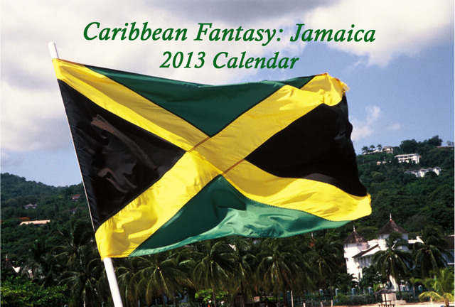Front cover Caribbean Fantasy: Jamaica 2013 calendar. © Stan Thomas/Kanale Creations