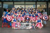 Captain America Dancing Girls