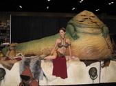 Slave Leia Photo Shoot