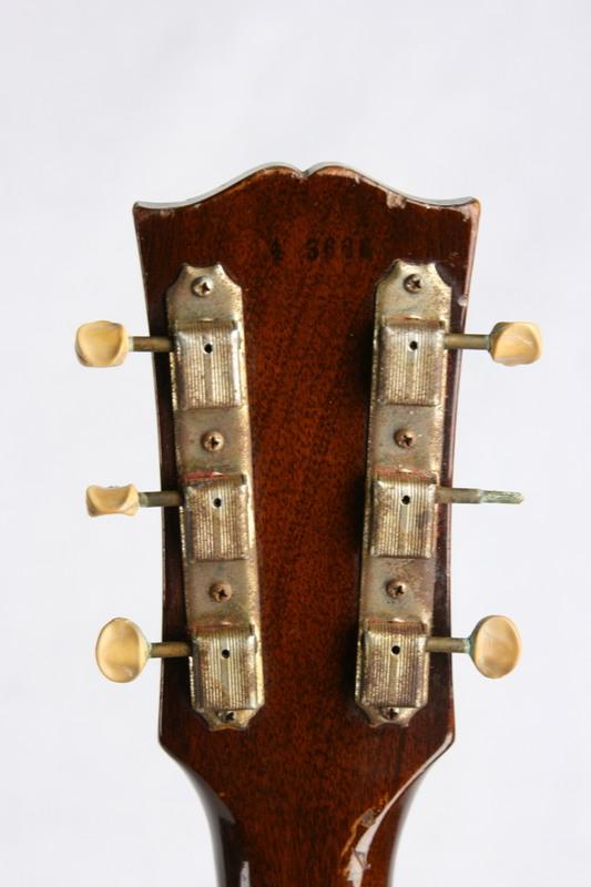 RARE 1954 Gibson Les Paul Jr 2-PIECE MAPLE BODY! Junior Standard