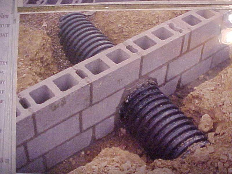 Pex under concrete driveway   Arboristsite com