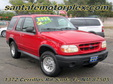 1999 Ford Explorer Sport Red