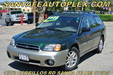 2000 Subaru AWD Outback Wagon Green
