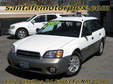 2000 Subaru Outback AWD Wagon White