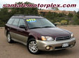 2000 Subaru Outback Wagon AWD Red