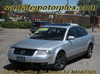 2001 VW Passat Silver