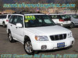 2002 Subaru AWD Forester Wagon White