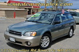 2002 Subaru AWD Outback Wagon Green