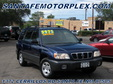 2002 Subaru Forester Blue AWD