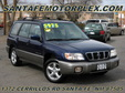 2002 Subaru Forester S AWD Blue