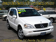 2003 Mercedes Benz ML320 AWD