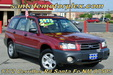 2004 Subaru Forester 2.5X AWD Wagon Red