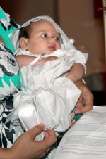 Baptism of Abigail Dollie Gordon