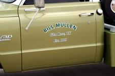 Bill Mullen's funeral