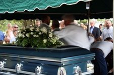 Bill Mullen's funeral