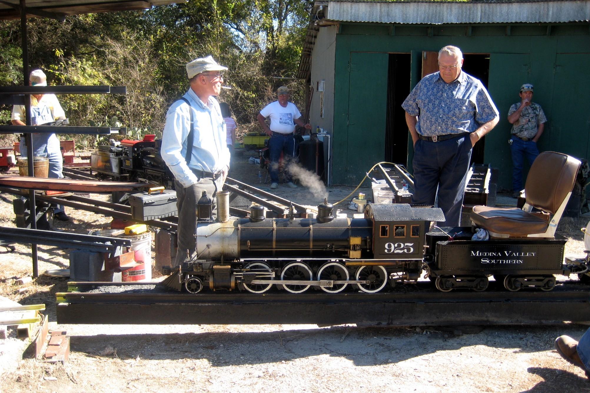 Leatherwood Miniature Train Meet 2008