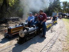 Leatherwood Miniature Train Meet 2008