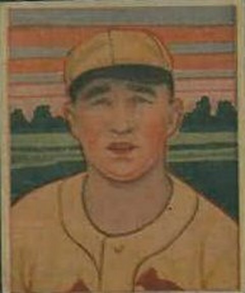1933 George C. Miller card of Frank Frisch