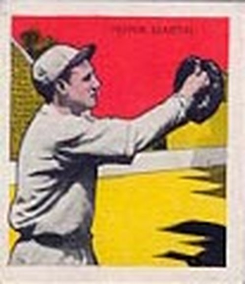 1933 Tattoo Orbit card of Pepper Martin