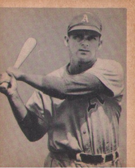 1948 Bowman card #25 of Barney McCoskey
