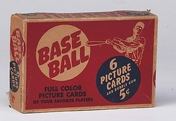 1951 Bowman Display Box