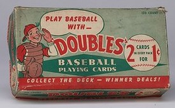 1951 Topps Display Box
