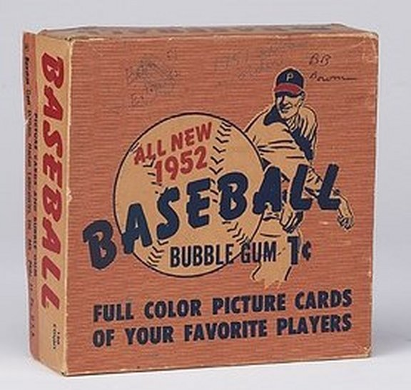 1952 Bowman Display Box