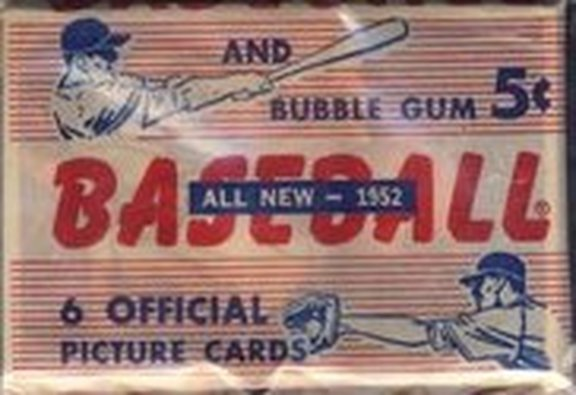 1952 Bowman Nickel Pack