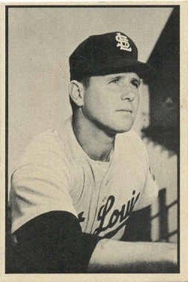 1953 Bowman Black and White card #17 of Virgil Trucks
