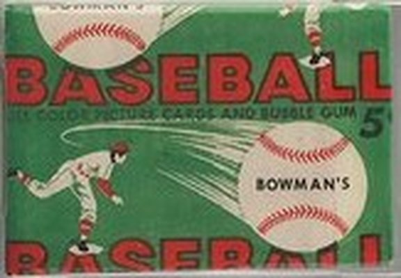 1954 Bowman Display Box