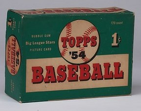 1954 Topps Display Box