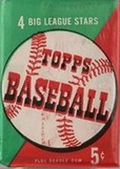1954 Topps Nickel Pack