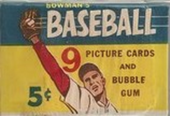 1955 Bowman Nickel Pack