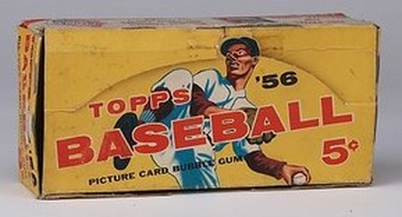 1956 Topps Display Box