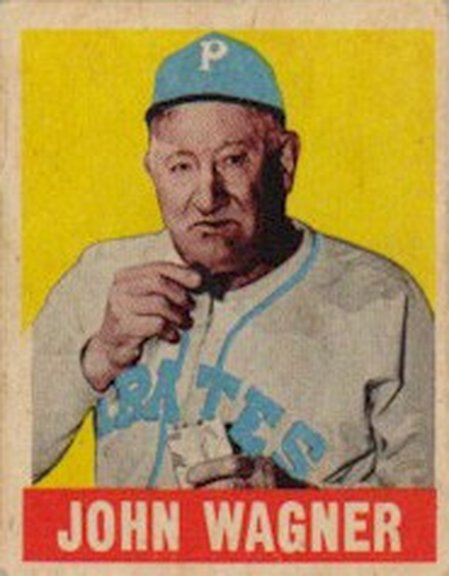 1948-49 Leaf card #70 of John Wagner
