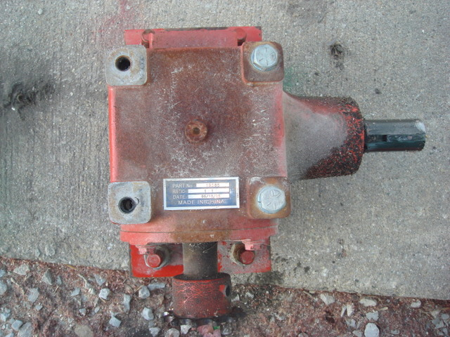 Viewing a thread - Right angle gearbox for westfield auger