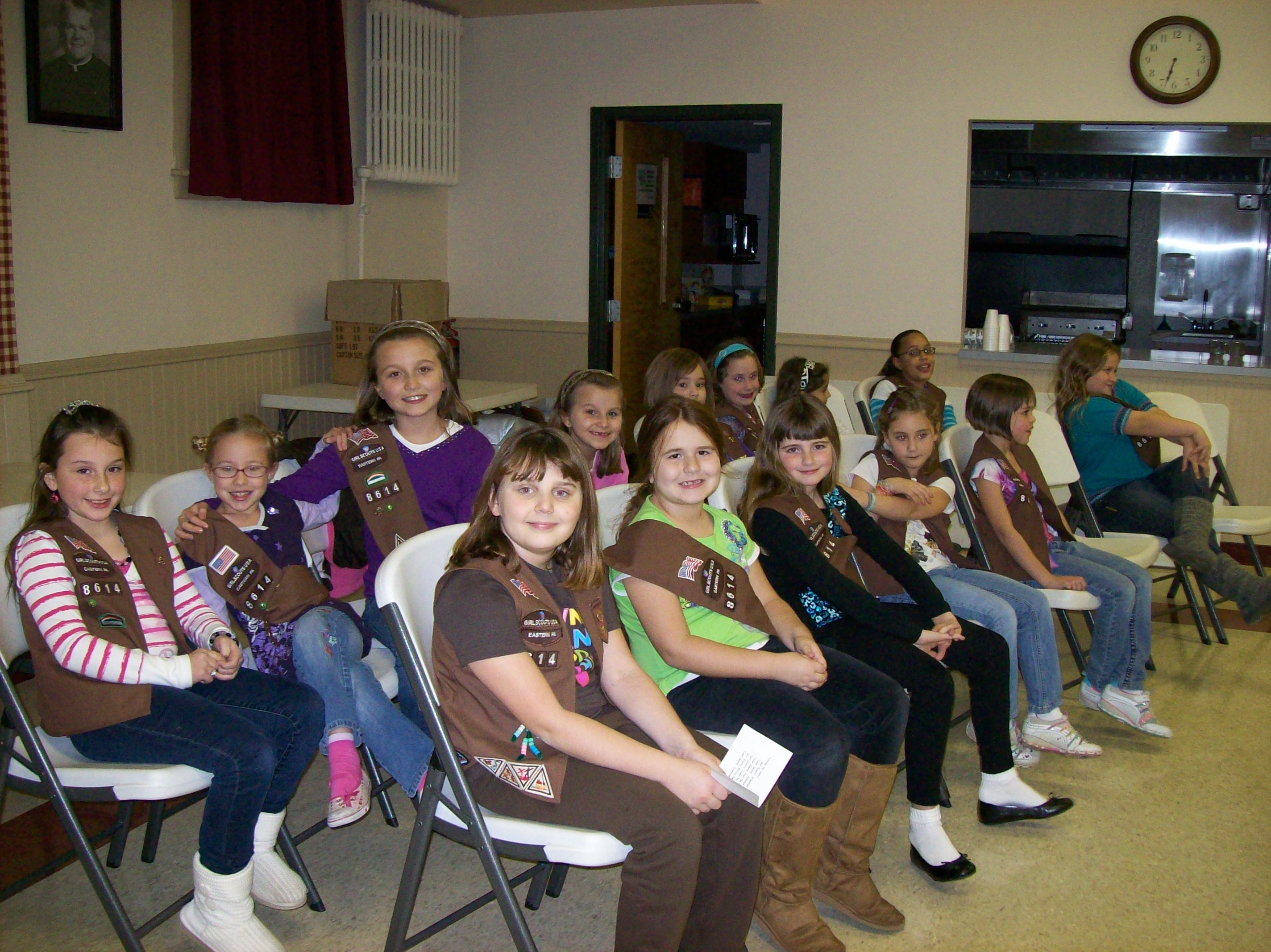 Brownie Troop 8614 2010-2011