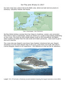 Cruise to The Baltic