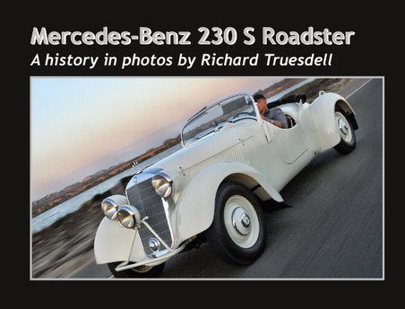 1938 Mercedes-Benz 230 S Special book