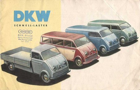 1956 DKW Schnellaster Editorial Package