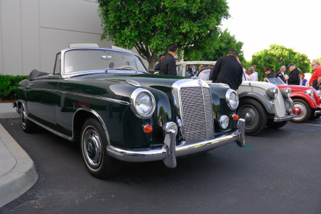 1956 Mercedes-Benz 220SE convertible