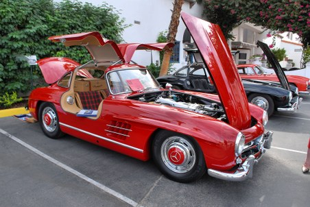 1956 Mercedes-Benz 300 SL red