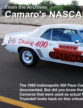1969 NASCAR Camaro Pacecar AT