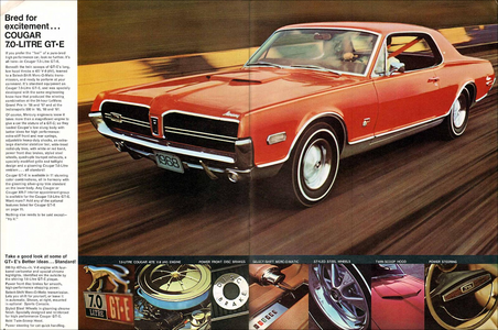 Classic Cougar Ads and Brochures