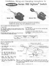 trnsiginstrns3 turn signal wiring diagrams ford ltl 9000 wiring diagram at bayanpartner.co
