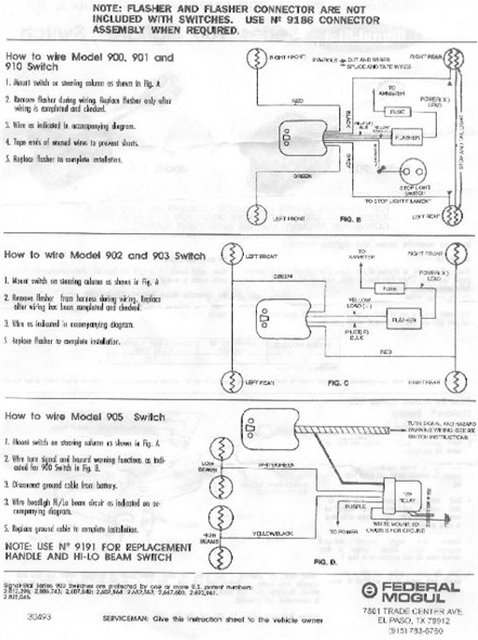 trnsiginstrns4 wiring diagram 920 turn signal switch readingrat net vsm 920 wiring diagram at highcare.asia
