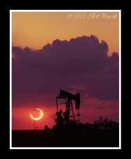 Public Gallery Photo Of the Day -- Annular Eclipse, West Texas